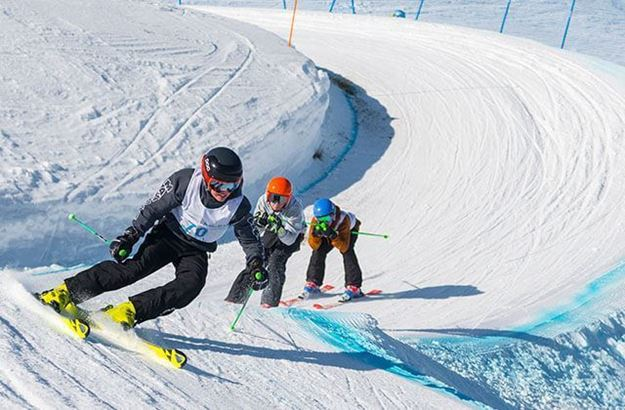 Picture of Skier Cross Entry