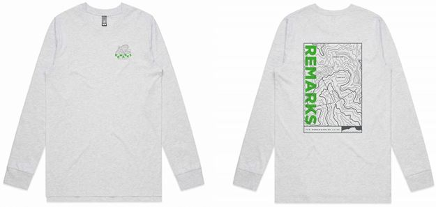 Picture of Remarks Topographical Map long sleeve